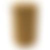 Bobine cordon viscose, ocre -  réalisation de sacs, pochettes, cabas