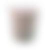Bobine cordon viscose, rose perle -  réalisation de sacs, pochettes, cabas
