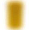 Bobine cordon viscose, jaune soleil -  réalisation de sacs, pochettes, cabas