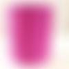 Bobine cordon viscose, fuchsia -  réalisation de sacs, pochettes, cabas