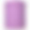 Bobine cordon viscose, lilas -  réalisation de sacs, pochettes, cabas