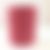 Bobine cordon viscose, rose brique -  réalisation de sacs, pochettes, cabas
