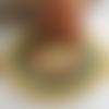 Scuby velvet de katia, col 101, beige , gros fil macramé