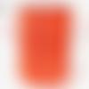 Trapilho tulle, orange travaillé