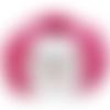 Fil katia washi, col 111, fuchsia, fil de viscose