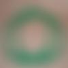 Anses rondes pour sac vert, 20 cm, effet bambou