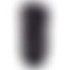 Trapilho lycra, noir double fil blanc