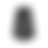 Fond de sac marron vieilli foncé, 36 x 12 cm