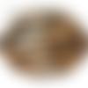 Fond de sac léopard, 18 cm