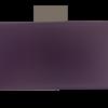 Fond de sac violet marbré, 36 x 12 cm