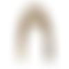 Anses demi cercle pour sac corne, 17x12 cm