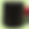 Elastique pour masque - cône de 1000 mètres - noir 3 mm - souple et doux