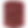Trapilho marron caramel  et rose , coton effiloché