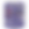 Trapilho violet dégradé gris nude, lycra