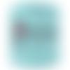 Trapilho bleu céleste, coton