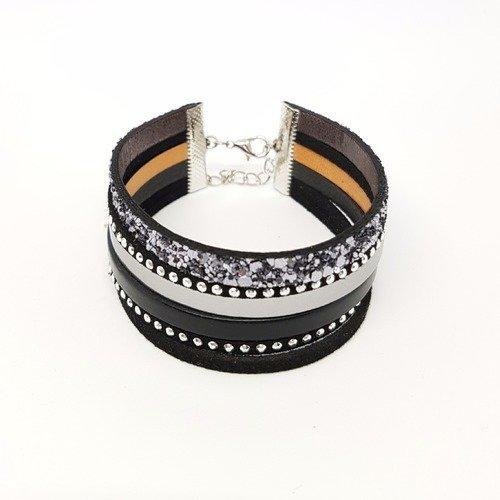 bracelet femme paillette