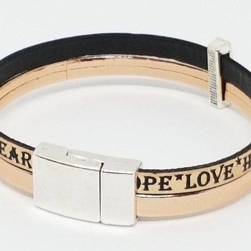bracelet cuir femme a graver