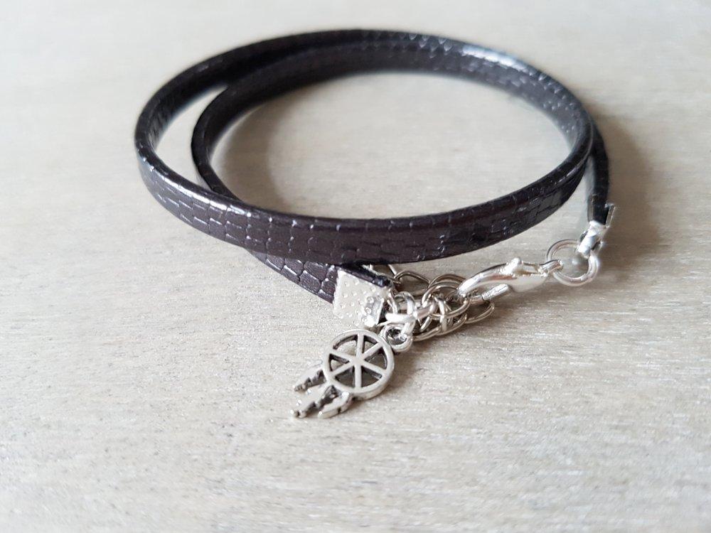 bracelet femme double tour