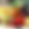 Ensemble fruits et légumes amigurumis  dinette au crochet