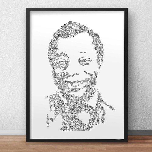 James baldwin - a3 - dessin d'art en noir et blanc.biographie et details de l ecrivain prix nobel