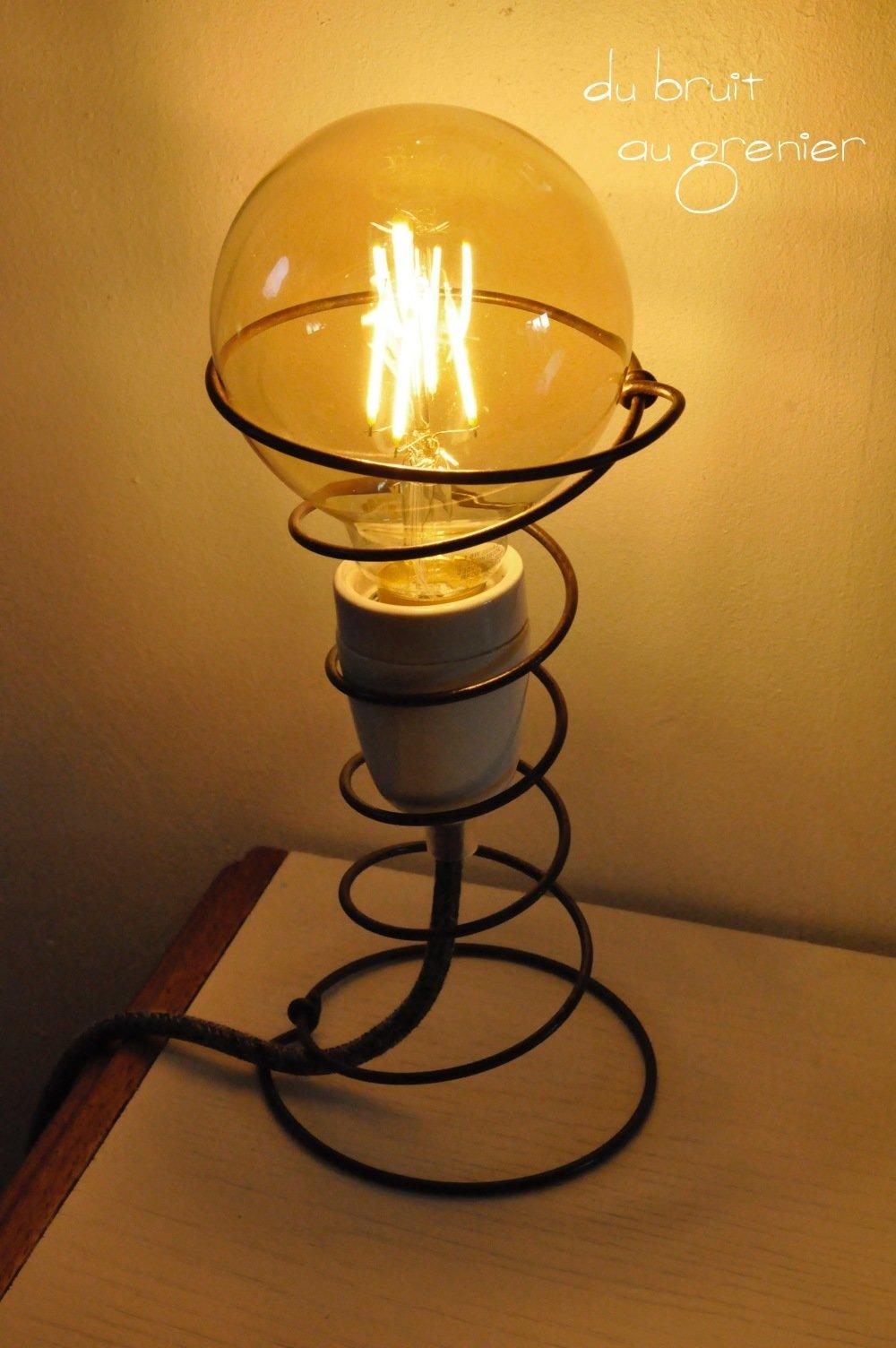 Lampe ressort originale