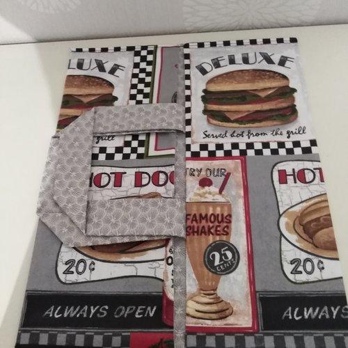Sac à tarte fast food