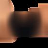 Masque grand public  homologué cat.2  , couleur noir  liens cuivre