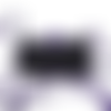 Masque grand public  homologué cat.2  , couleur noir  liens violet