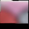 Trousse à maquillage ou grande trousse en simili cuir et paillettes rose noir argent