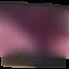 Trousse à maquillage ou grande trousse en simili cuir et paillettes prune &rose