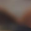 Trousse à maquillage ou grande trousse en simili cuir et paillettes  camaieu marron