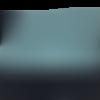 Pochette  à rabat en coton noir et  polycoton vert à pois blanc