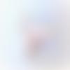 Hochet lapin oreille bruyante - anneau de dentition montessori pour bébé - saki argenté