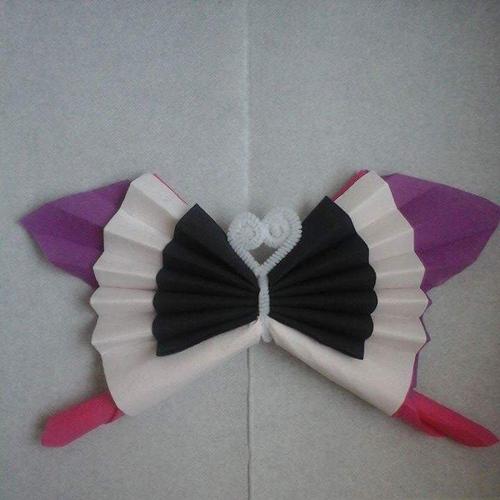 Pliage Serviette En Forme De Papillon