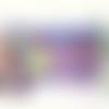 Trousse originale multicolore style bohème