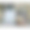 Trousse romantique couleur pastel, trousse ou pochette style rétro