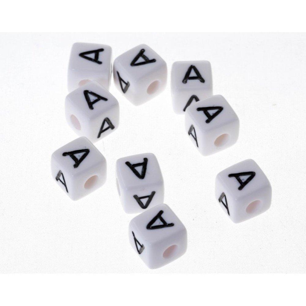 lettere alphabet acrylique  A 10 mm