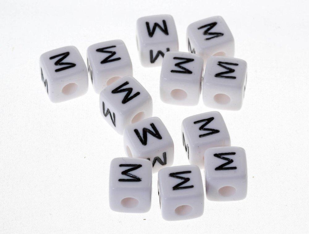 10 lettre alphabet M10mm