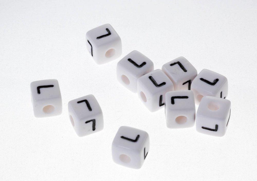 10 lettre alphabet L10mm