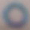 Bracelet bicolore mauvais oeil résine