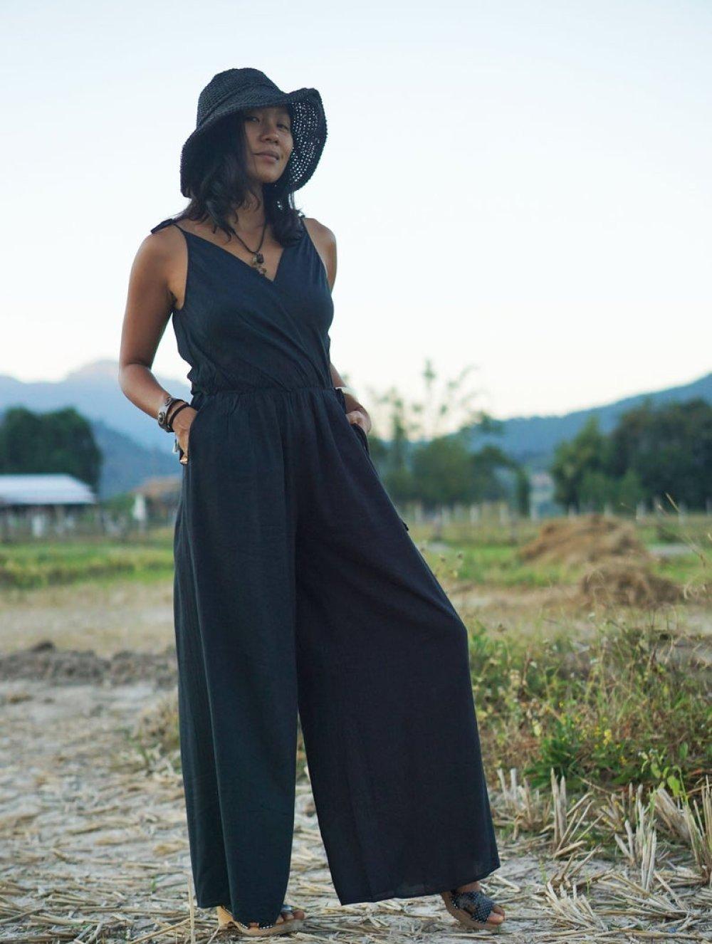 Jolie Robe Combinaison en Coton