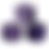 Photophores carré camaïeu de violet