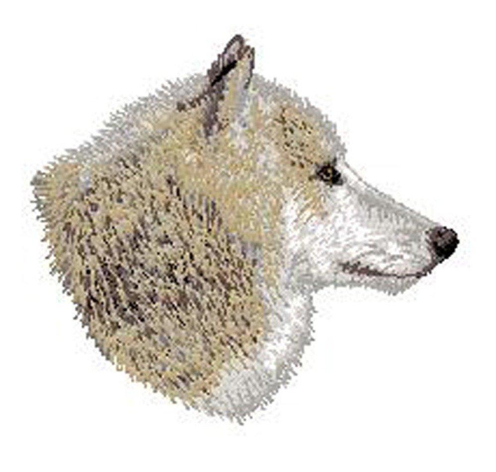 Écusson brodé loup