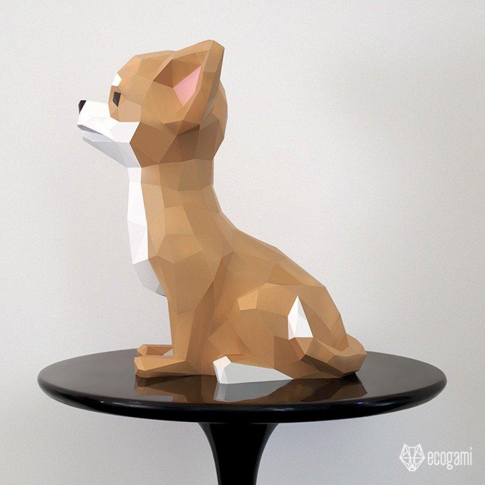 DIY Chihuahua en papier