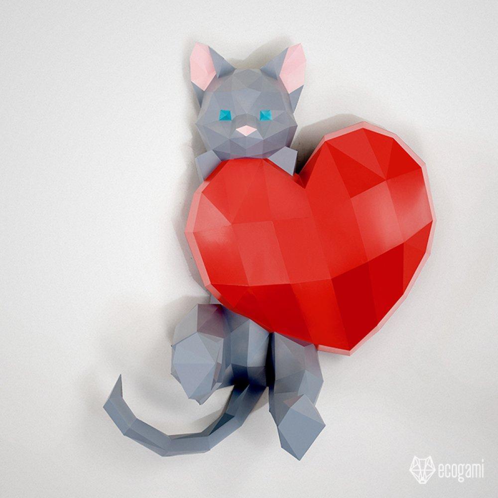 DIY chat amoureaux