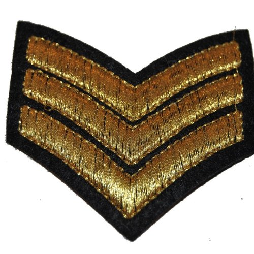 Patch galon chef thermocollant coutures