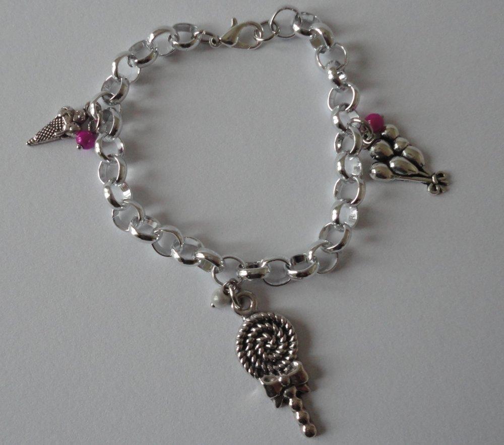 Bracelet thème fête foraine