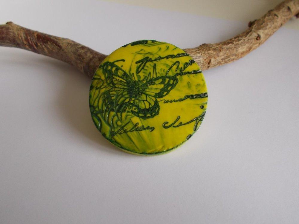 pendentif en pâte polymère pour la création