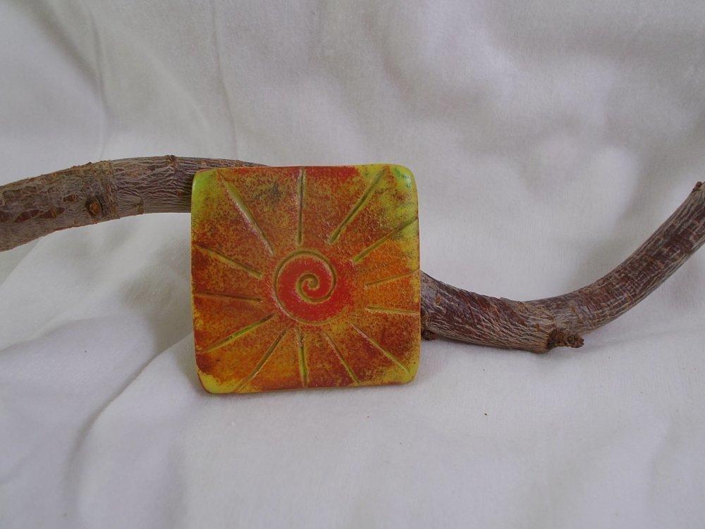pendentif en pâte polymère pour création