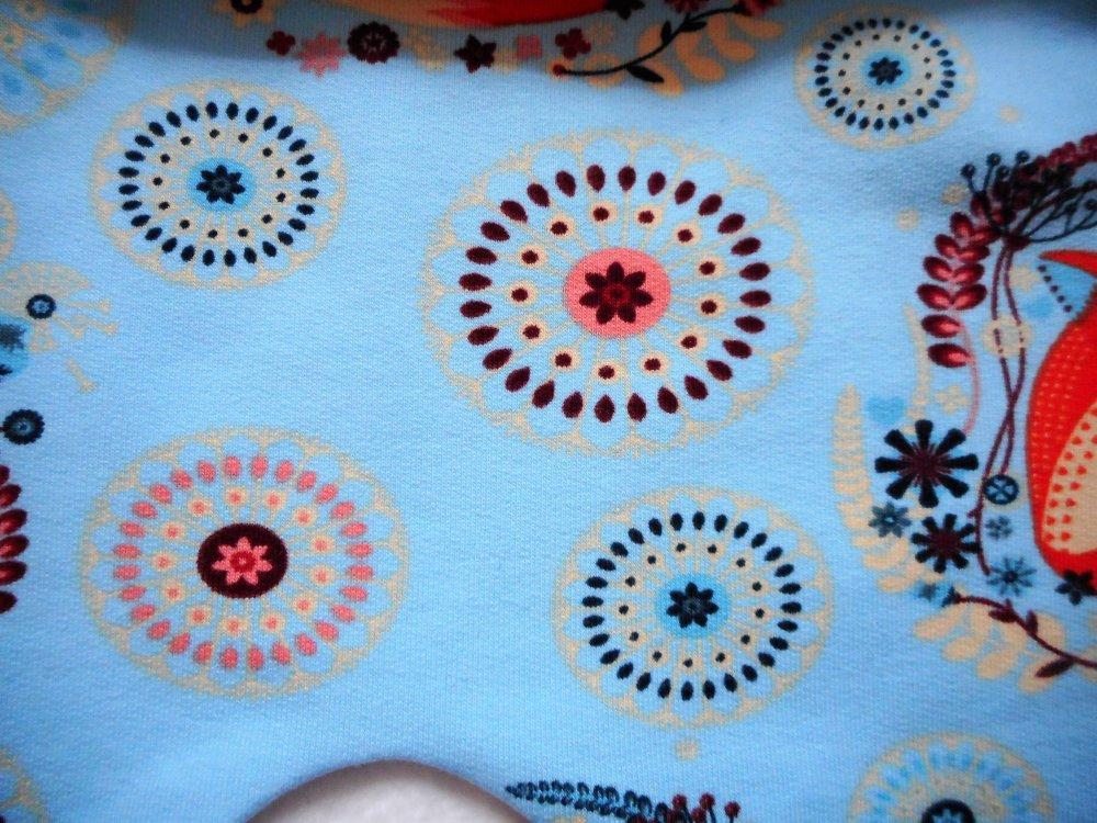 Sarouel Bébé Garçon ou Fille 12 mois Printemps Sweat Jersey Coton Pantalon Unisexe Maman Renard et son bébé